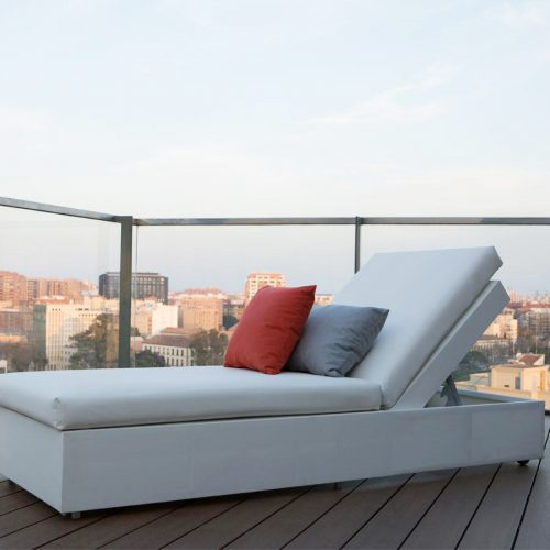 Tumbona para exterior coleccion chilled